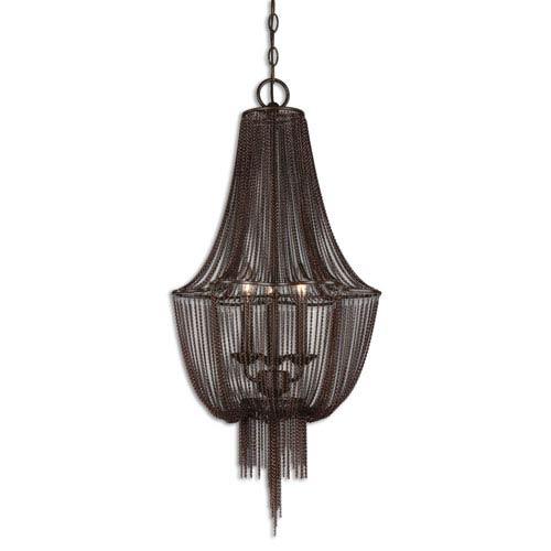 Lezzeno Oil Rubbed Bronze Three-Light Chandelier
