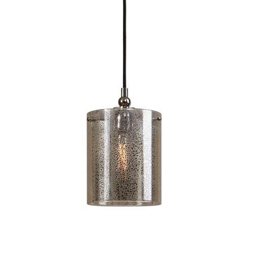 Mariano Polished Nickel One-Light Mini Pendant
