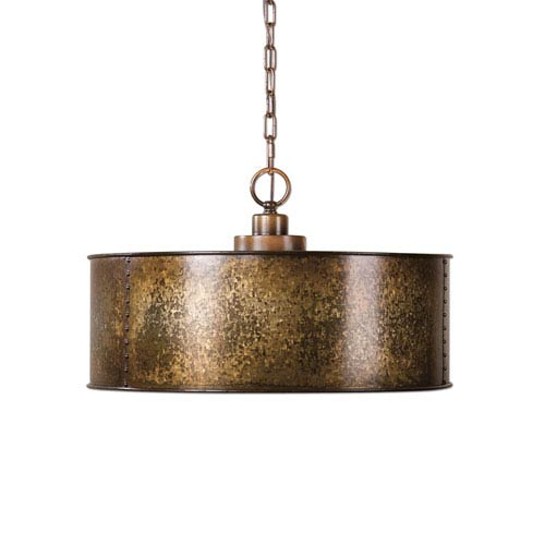 Wolcott Gold Three-Light Pendant