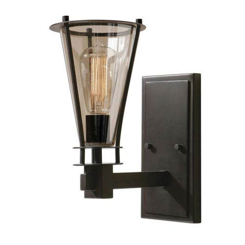 Frisco Rustic One-Light Wall Sconce