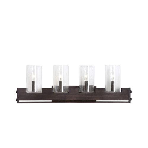 Pinecroft Industrial Four-Light Vanity