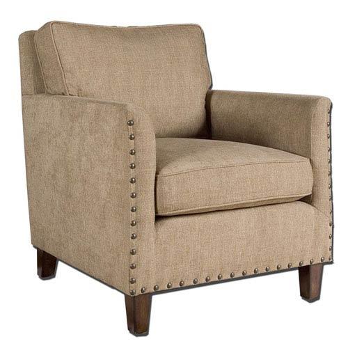 Keturah Light Brown Armchair