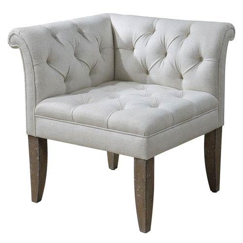 Uttermost Tahtesa Textural Corner Chair