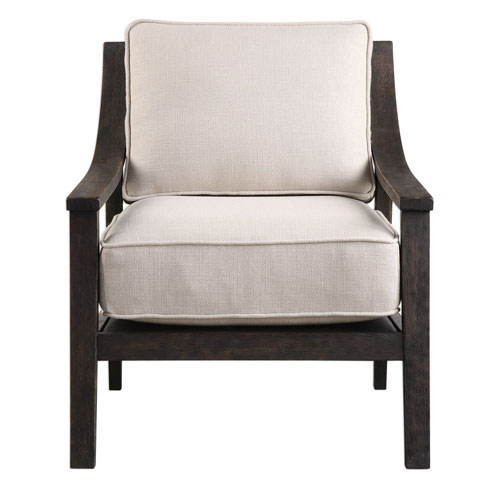 Lyle Beige Accent Chair