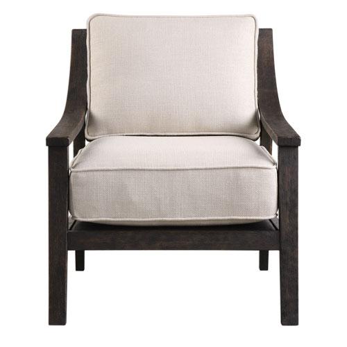 Lyle Beige Accent Chair