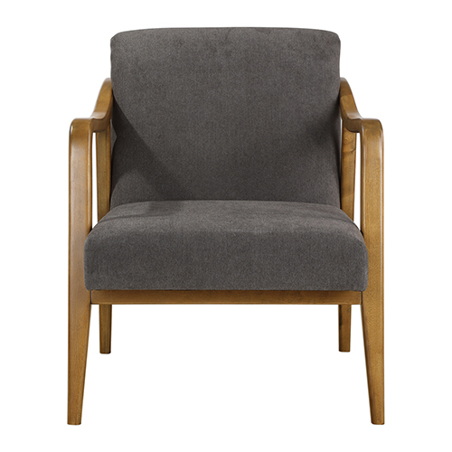 Degory Taupe Brown Accent Chair