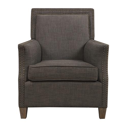 Darick Charcoal Armchair