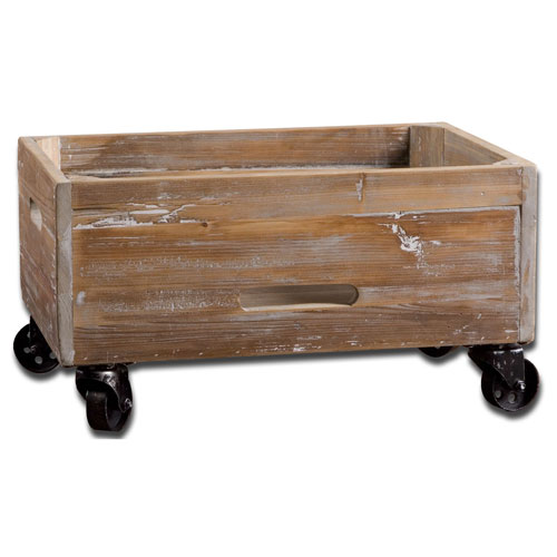Stratford Fir Wood Rolling Box