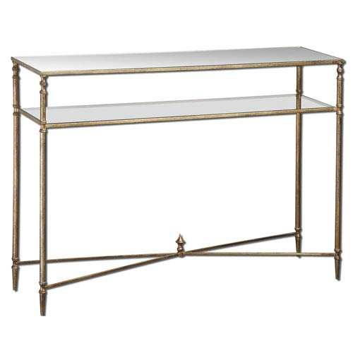 Gold Henzler Console Table