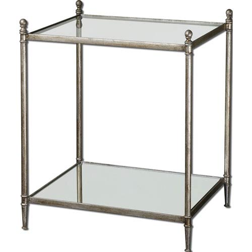 Silver Gannon End Table