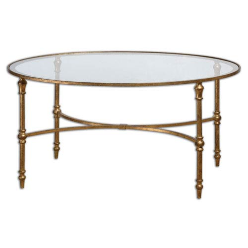 Vitya Gold Coffee Table