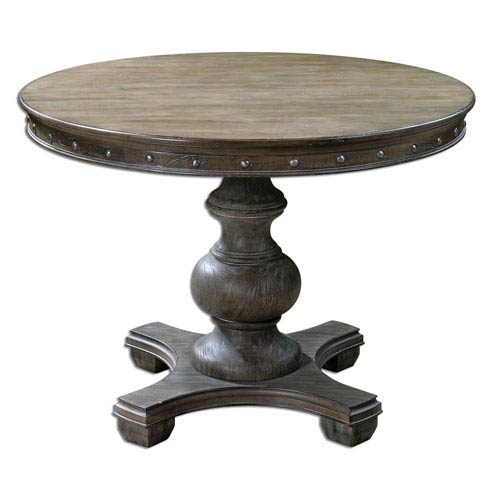 Sylvana Light Gray 42-Inch Round Table