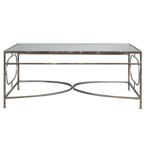 Uttermost Luano Silver Coffee Table