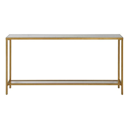Uttermost Hayley Gold Console Table