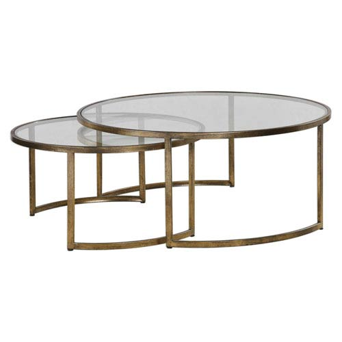 Rhea Nested Coffee Tables, Set of Two