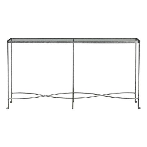 Aubrey Silver Console Table