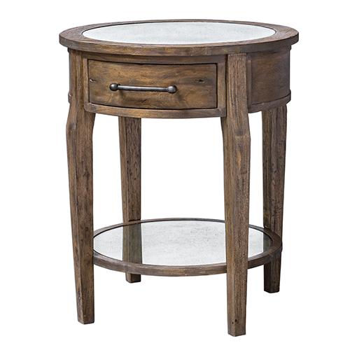 Raelynn Wood Lamp Table