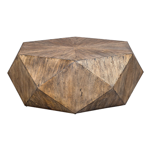 Volker Burnished Honey Coffee Table