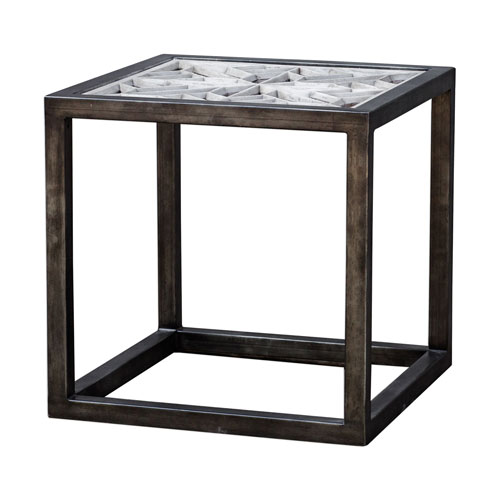 Baruti Iron Frame End Table