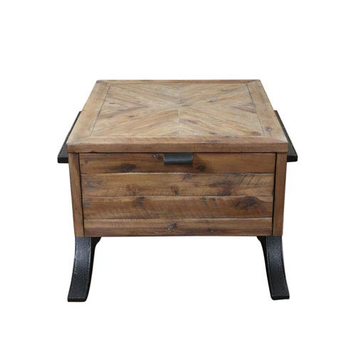 Uttermost Brodie Natural Wood Accent Table