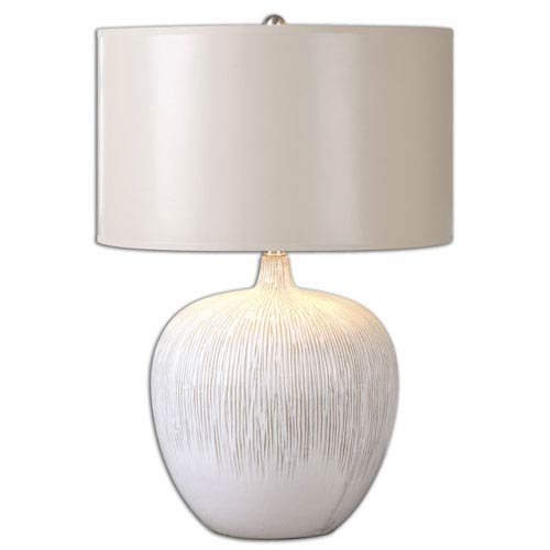 Georgios Textured Ceramic One-Light Table Lamp