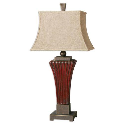 Uttermost Rosso Golden Bronze One-Light Table Lamp