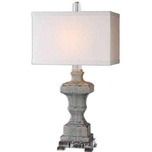 San Marcello Ceramic Glaze One-Light Table Lamp