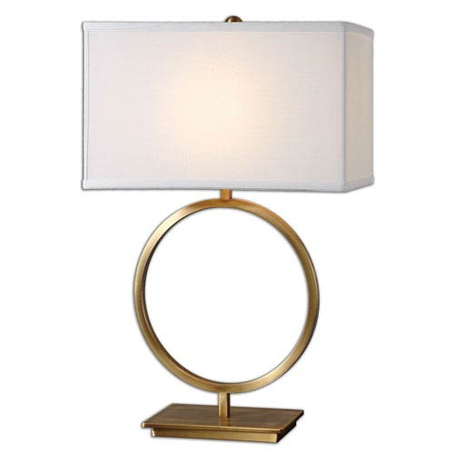 Duara Brushed Brass One-Light Table Lamp