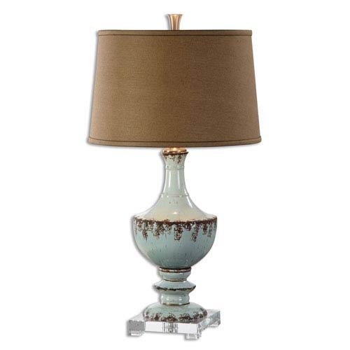 Molara Aged Blue One-Light Table Lamp