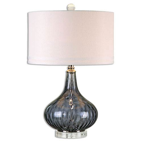 Sutera Transparent One-Light Table Lamp
