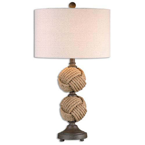 Uttermost Higgins Natural One-Light Table Lamp