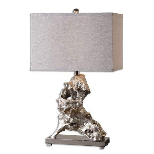 Uttermost Rilletta Metallic Silver One-Light Table Lamp