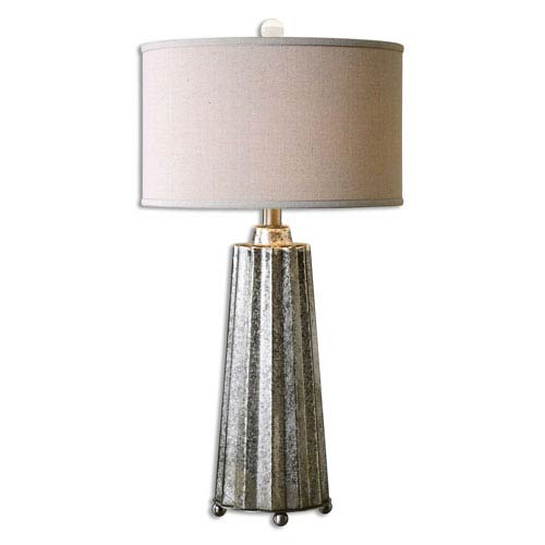 Sullivan Burnished Mercury One-Light Table Lamp