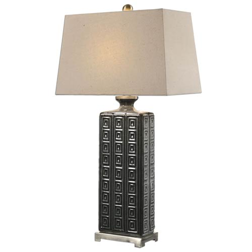 Casale Aged Gray One-Light Table Lamp