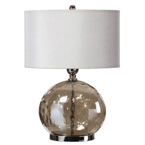 Piadena Iridescent Water One-Light Glass Table Lamp