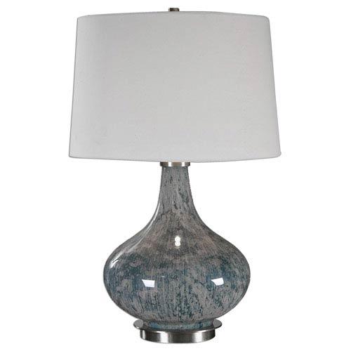Celinda Blue Gray One-Light Table Lamp