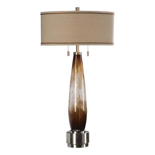Uttermost garonne amber and ivory table lamp 27706 bellacor uttermost garonne amber and ivory table lamp aloadofball Images