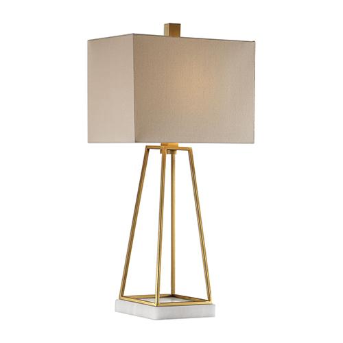 Mackean Metallic Gold One-Light Table Lamp