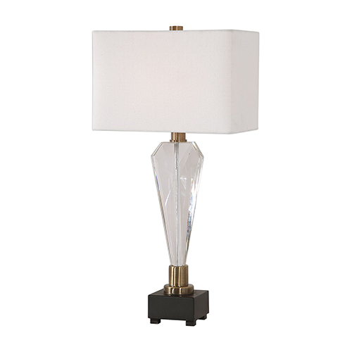 Cora Crystal One-Light Table Lamp