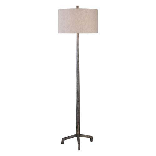 Ivory Cast Iron Floor Lamp