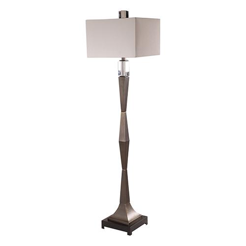 Bralon Dark Bronze One-Light Floor Lamp