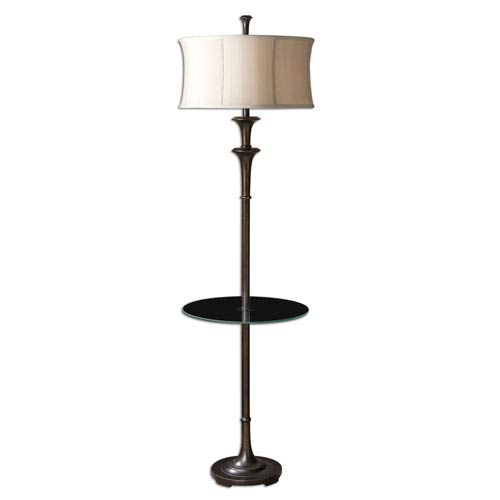Brazoria Floor Lamp with Table