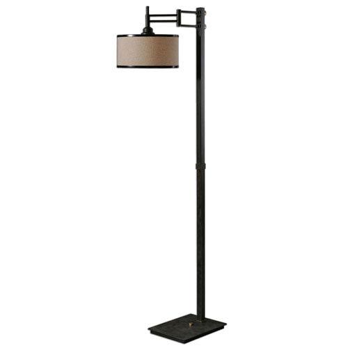 Prescott Dark Chocolate Bronze One-Light Floor Lamp