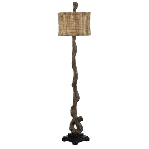 Uttermost Weathered Driftwood One-Light Floor Lamp