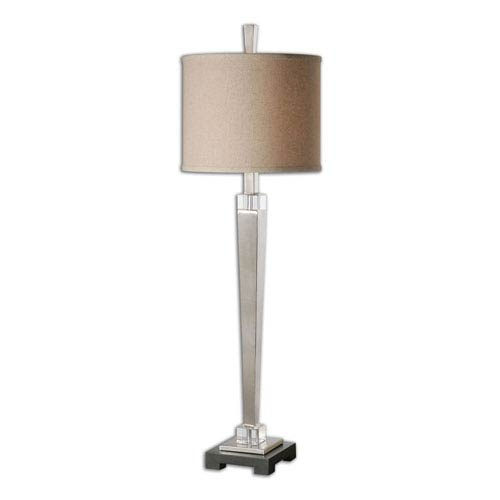 Uttermost Terme Brushed Nickel One-Light Buffet Lamp