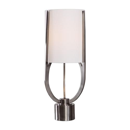 Centino Brushed Nickel One-Light Buffet Lamp