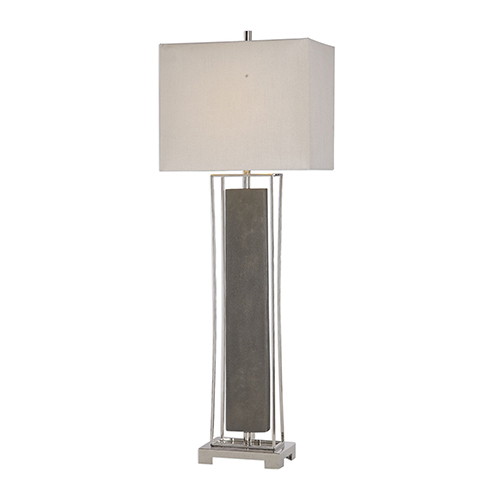 Sakana Gray One-Light Buffet Lamp