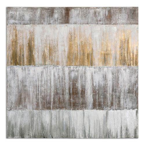 Sawyers Fence by Matthew Williams: 48 x 48-Inch Modern Art