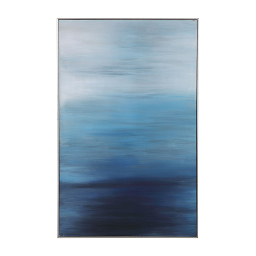 Uttermost Moonlit Sea Canvas