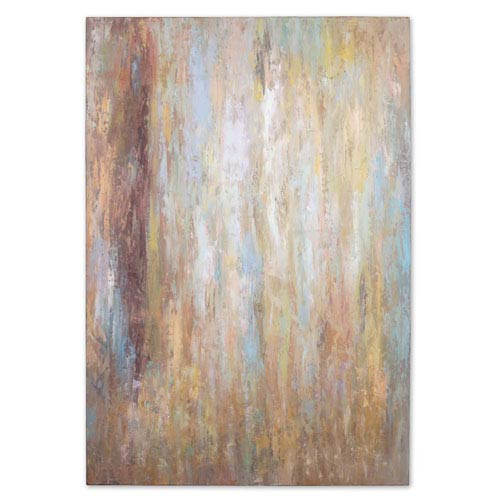 Raindrops: 70 x 48 Oil Painting
